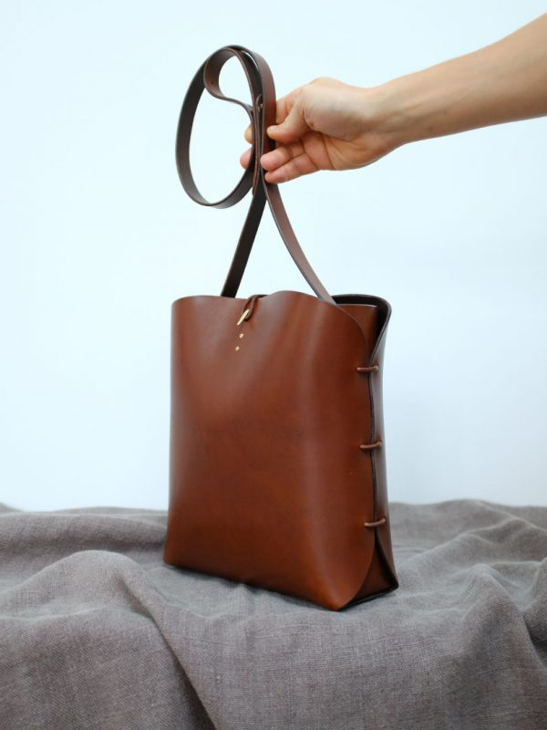 sac en cuir Fabriqué en France a la main
